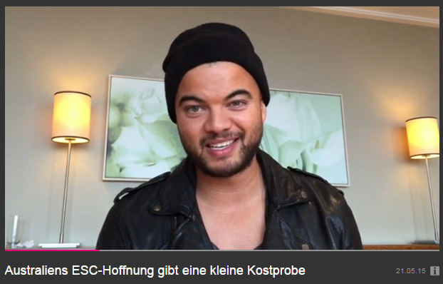Guy Sebastian, Interview