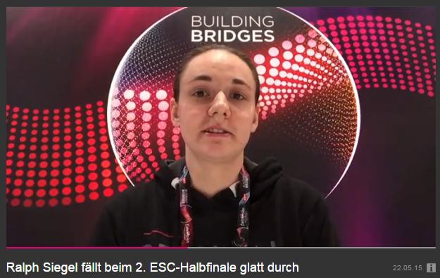 Video-Kommentar zum zweiten Halbfinale des Eurovision Song Contest