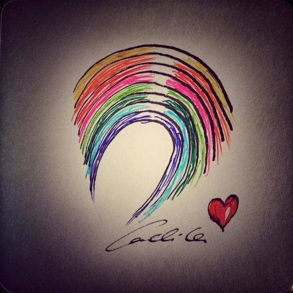 Conchita Wurst Zeichnung Orlando