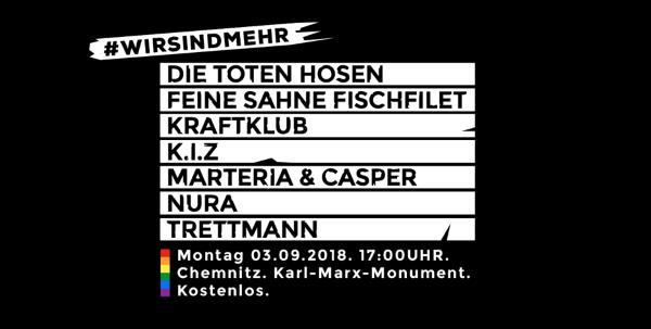 Chemnitz, Wir sind mehr