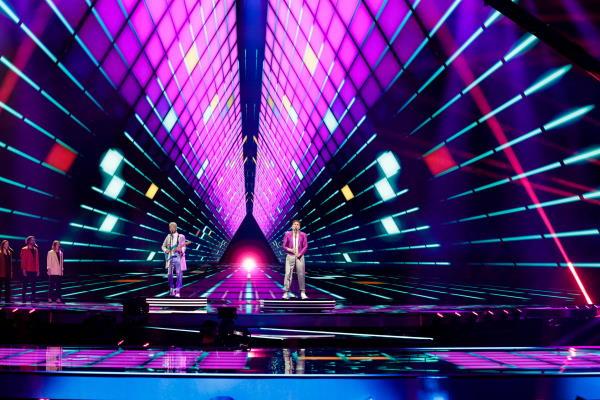 Fyr Og Flamme, Eurovision Song Contest 2021