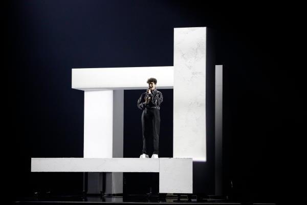 Gjon's Tears, Eurovision Song Contest 2021
