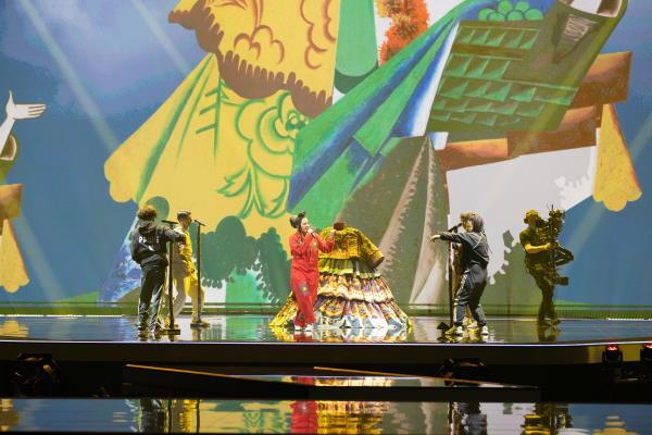 Manizha, Eurovision Song Contest 2021
